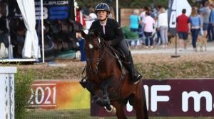 Fontainebleau 2021 : Amélie Berthault, cavalière...