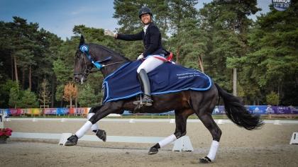 Dressage 2021 : Victor Brua et Jin Xin du Montroyer s'adjugent le Championnat des...