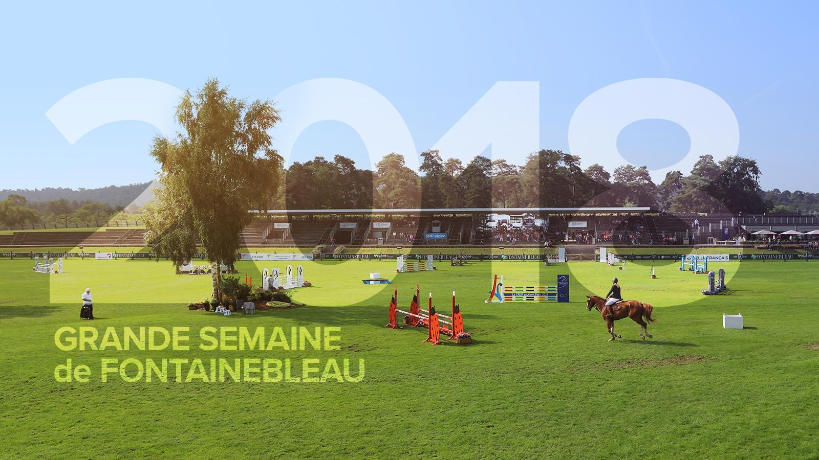 Dates de la Grande Semaine de Fontainebleau 2018
