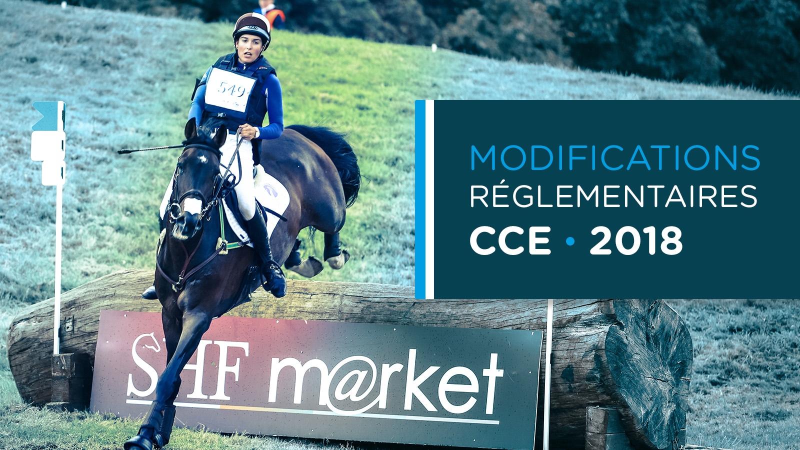 Lire l'acutalité Modifications réglementaires CCE 2018