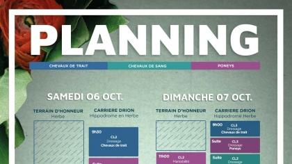 Lire l'acutalité Grande Semaine de Compiègne 2018 : Planning des épreuves