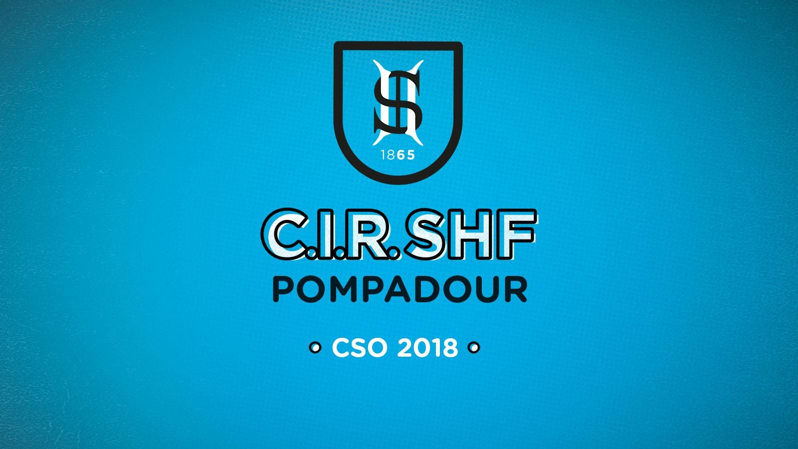 CIR CSO Pompadour 2018 : Nouveaux champions congratulés !