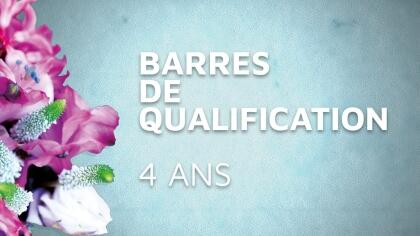 Lire l'acutalité CSO : Barre de qualification des 4 ans