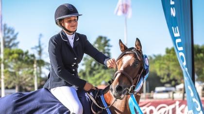 Dakota de Samson sacrée Championne de France des 5 ans C