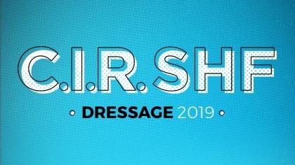 Lire l'acutalité CIR SHF Dressage : Dates 2019