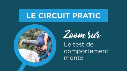 Circuit PRATIC : zoom sur le test de comportement monté
