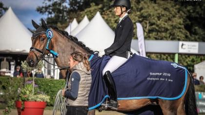 Lire l'acutalité Saumur 2019 : le Haras de Hus bien représenté sur le podium des CC 5 ans
