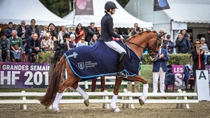 Lire l'acutalité Saumur 2019 : Djembé de Hus survole le Cycle Classique 4 ans