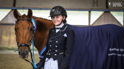 Lire l'acutalité Saumur 2019 : Dazzling Kid d'Herbord, vainqueur des poneys de 6 ans et exemple de...