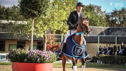 Lire l'acutalité Saumur 2019 : Envoyé Spécial du Luy, meilleur parmi les poneys de 5 ans