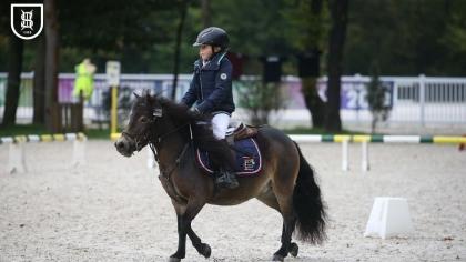 Compiègne 2019 : Filly Sweet des Volts, en tête de la finale PRATIC des poneys...