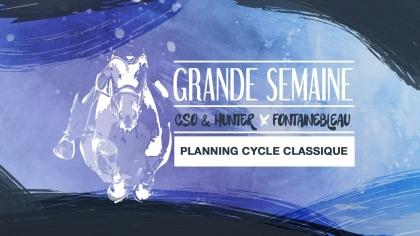 Lire l'acutalité Planning Fontainebleau - CSO & Hunter Cycle Classique