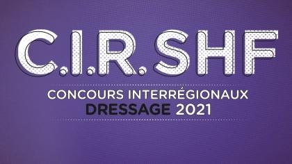 CIR Dressage 2021 : Dates et lieux