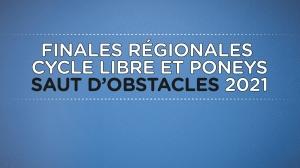 Finales régionales Cycle Libre et Poneys de CSO :...