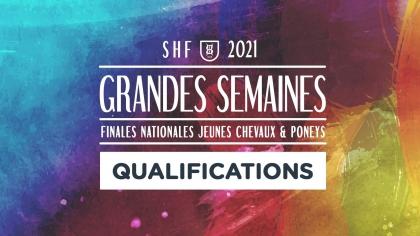 Qualifications pour les Finales nationales 2021