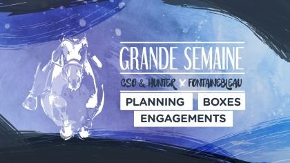 Lire l'acutalité Grande Semaine de Fontainebleau 2021 : Planning, Boxes et Engagements