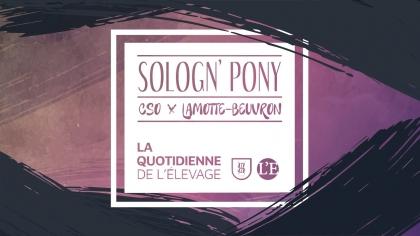 Sologn'Pony 2021 : La Quotidienne de l'Elevage du Samedi 21 août