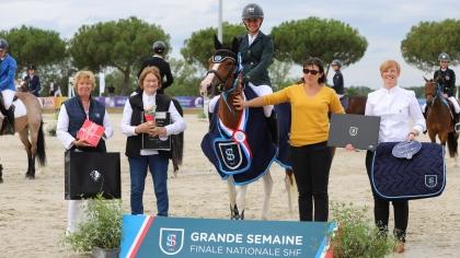 Sologn'Pony 2021 - 4 ans C : Hopie de Grellery remporte le titre